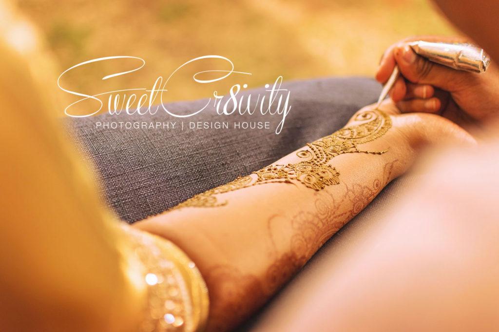mehendi,henna,art,wedding festivities,flowers in hair,durban wedding photographers,sweetcr8ivity,aveen and elaine lutchman,colorful decor,hand art,chicnese fan,floral sari, bridal mehndi by narusha