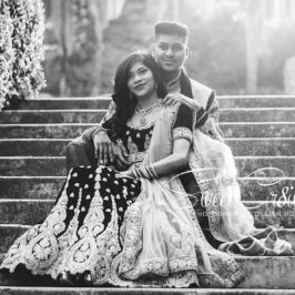 post engagement shoot, durban wedding photographer, durban botanical gardens, love, laughter, emotions, happiness, bride to be, couple shoot, creativity, golden hour, aveen and elaine lutchman,lehenga