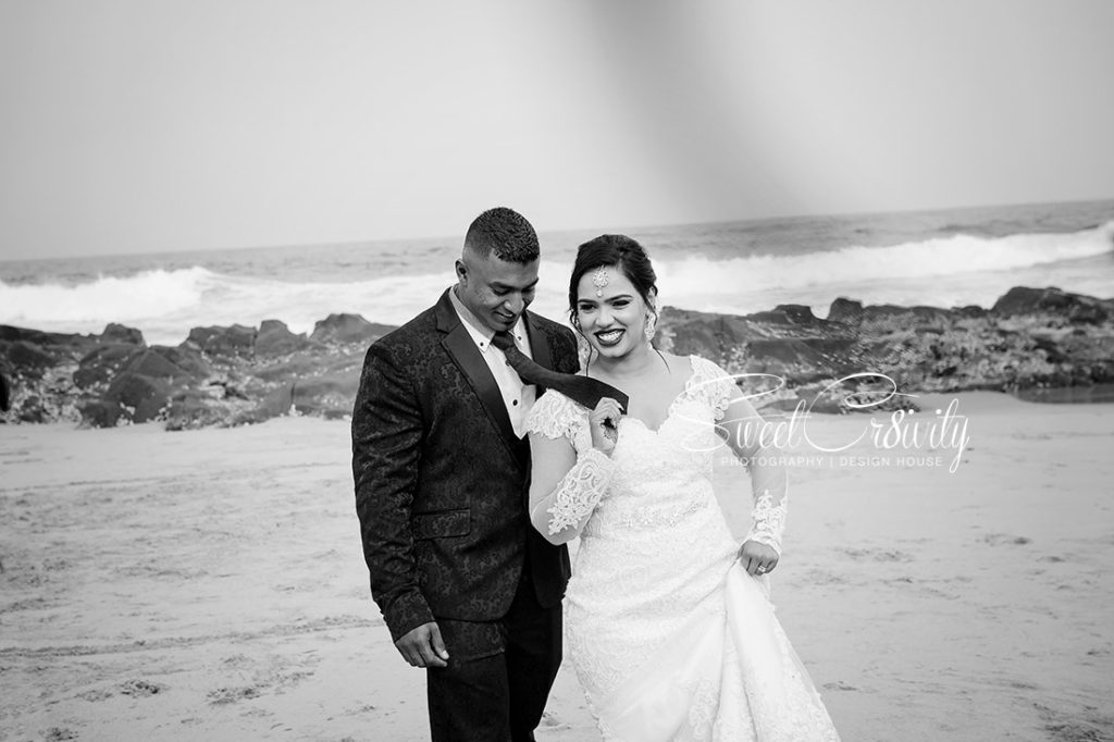sweetcr8ivity,elaine and aveen lutchman, white wedding, ballito beachhouse, church, reception, mehendi, beach creative shoot, best durban wedding photographers, nikon, creative, bridal, bouquet, retinue,love,massood boomgard,navy blue, gold, theme,chloe,forever flawless brides,royal touch makeup