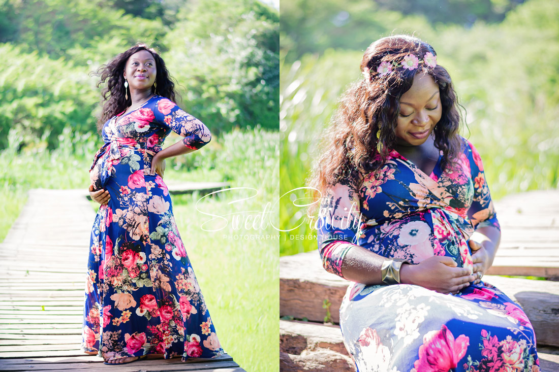 pregnancy,its a girl, photoshoot, umhlanga, best durban photographers, nature, hawaan forest, umhlanga nature reserve, elaine and aveen lutchman, floral maxi dress, umhlanga beach