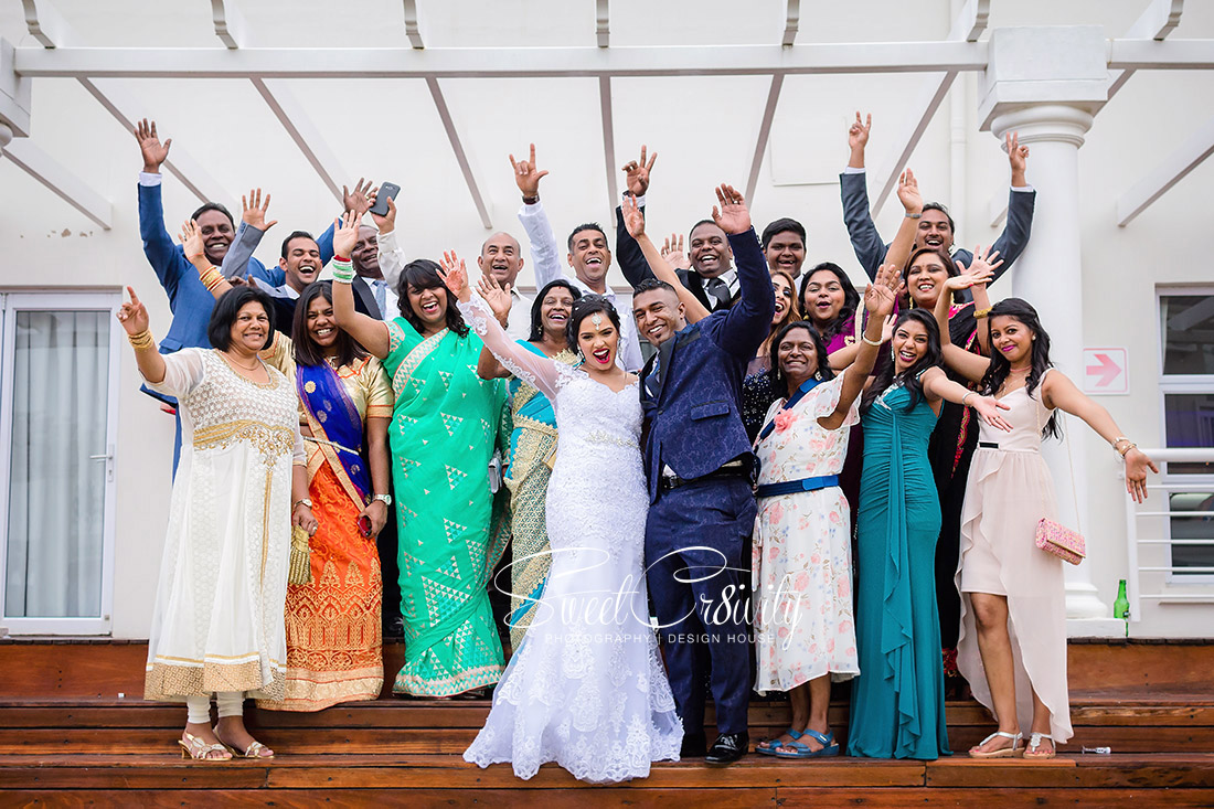 sweetcr8ivity,elaine and aveen lutchman, white wedding, ballito beachhouse, church, reception, mehendi, beach creative shoot, best durban wedding photographers, nikon, creative, bridal, bouquet, retinue,love,massood boomgard,navy blue, gold, theme,chloe,forever flawless brides,royal touch makeup,bubbles