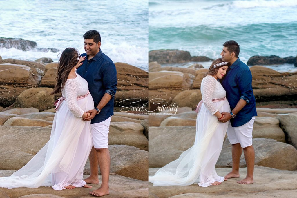 golden hour,maternity shoot, umhlanga beach, its a boy, sweetcr8ivity, elaien and aveen lutchman, best durban photographers, creative, lighthouse