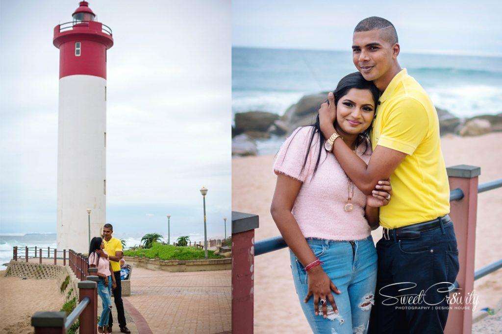 couples shoot, durban photographers, save the date, sweetcr8ivity, umhlanga beach, elaine and aveen lutchman