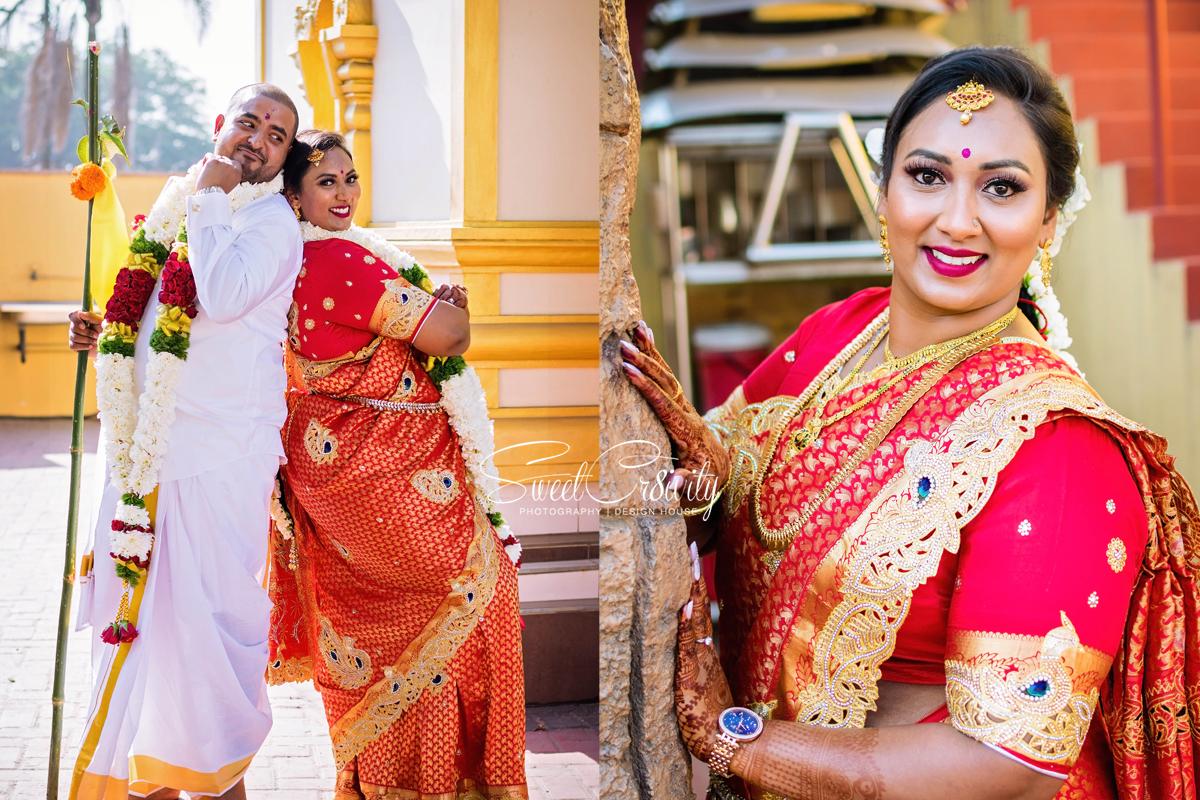 south indian wedding, sweetcr8ivity, best durban wedding photographers, elaine and aveen lutchman, reelwheel weddings, shirley naidoo, hair sensations, mehendi by pooja, makeup artist ree, the bridal factor, nature, temple wedding, love, laughter, happiness, creative shoot, tamil bride, dhoti, prevesh khelawan