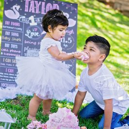 sweetcr8ivity, durban wedding photographers, kiddies parties, 1st birthday,cake smash, umhlanga, laughter, family, creativity,butterfly cake, brother and sister love