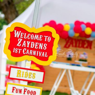 ZAYDEN'S CARNIVAL THEMED PARTY