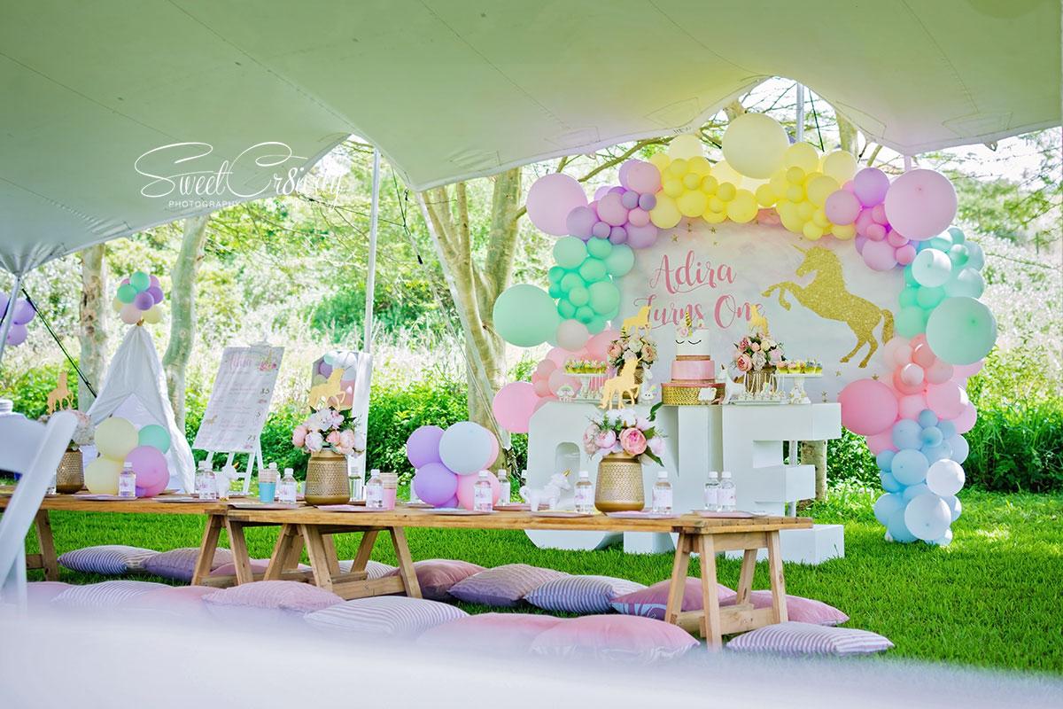 unicorn themed party, picnic, birthday, 1st, sweetcr8ivity, elaine and aveen lutchman, umhlanga, kiddies parties durban, nikon, best durban photographers, creative, ms waffles, couture cakes by masooda emam, izinga ridge