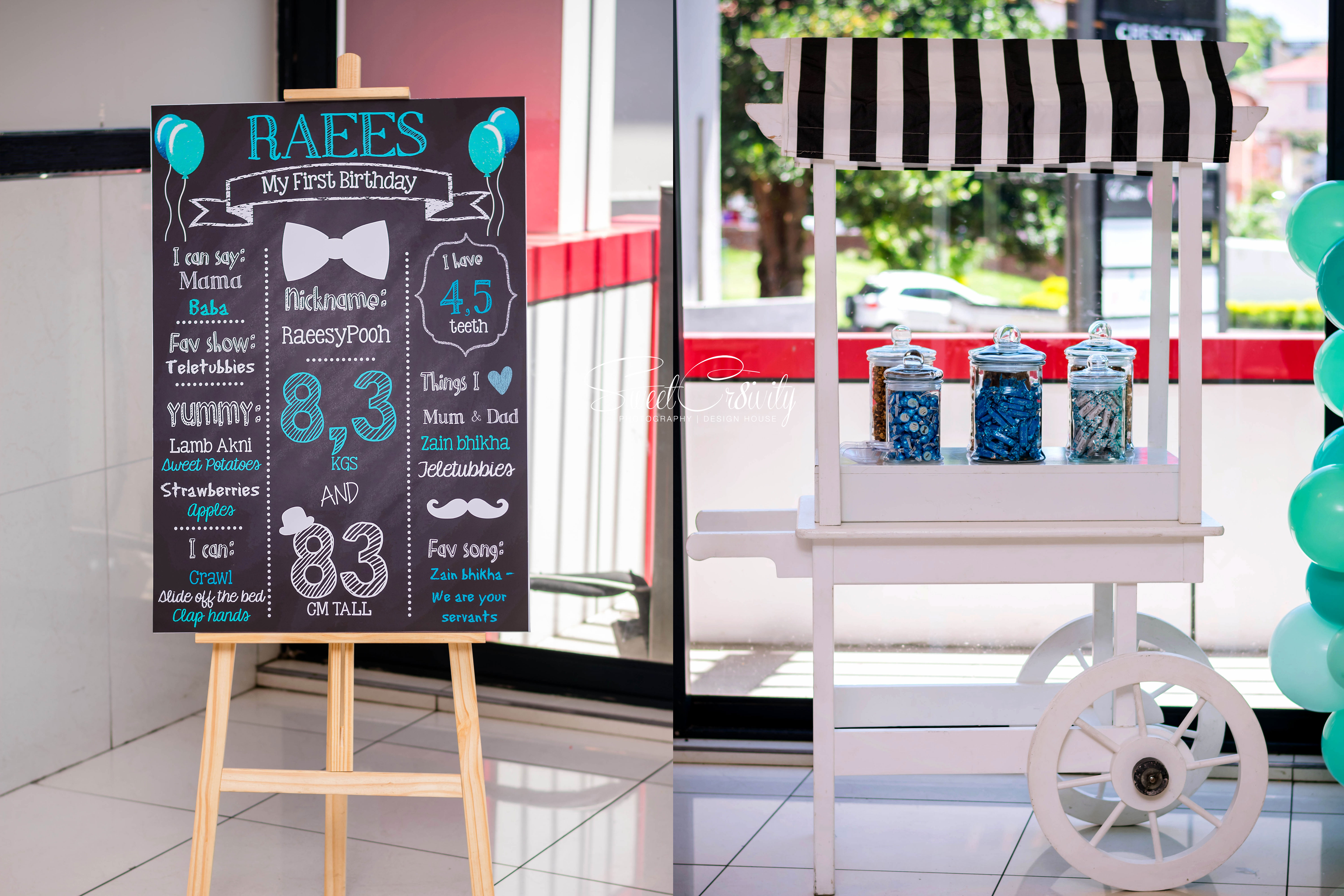 raees turns 1, sweetcr8ivity,the polkadot company, aveen and elaine lutchman, little man, themed birthday party, umhlanga, overport,best durban photographers, Nikon, the exotic conference venue, mumtaz cocoa, gift bags,, themed cookies, fancy, creative, mo magic, donuts