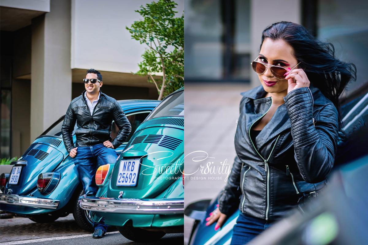 car shoot, sweetcr8ivity,elaine and aveen lutchman, sunset, golden hour, umhlanga photographers, beetle,cars,vintage,love,creative shoot